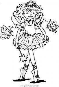 Prinzessin Lillifee 36 Gratis Malvorlage In Comic Trickfilmfiguren