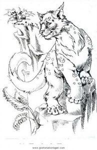 Puma 01 Gratis Malvorlage In Tiere Tiger Ausmalen