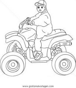Quoad Quad 01 Gratis Malvorlage In Motorrad Transportmittel Ausmalen