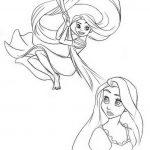 Rapunzel Malvorlagen Zum Ausmalen Fur Kinder