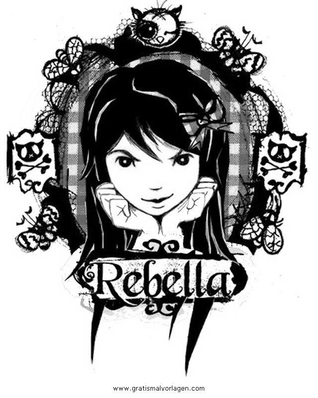 Galupy 1 Gratis Malvorlage In Comic Trickfilmfiguren: Rebella1 Gratis Malvorlage In Beliebt08, Diverse