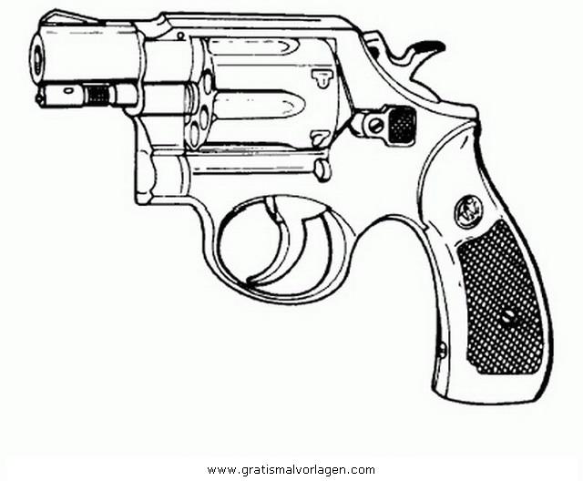 Revolver 3 Gratis Malvorlage In Beliebt03, Diverse