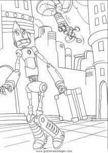 malvorlagen roboter free download