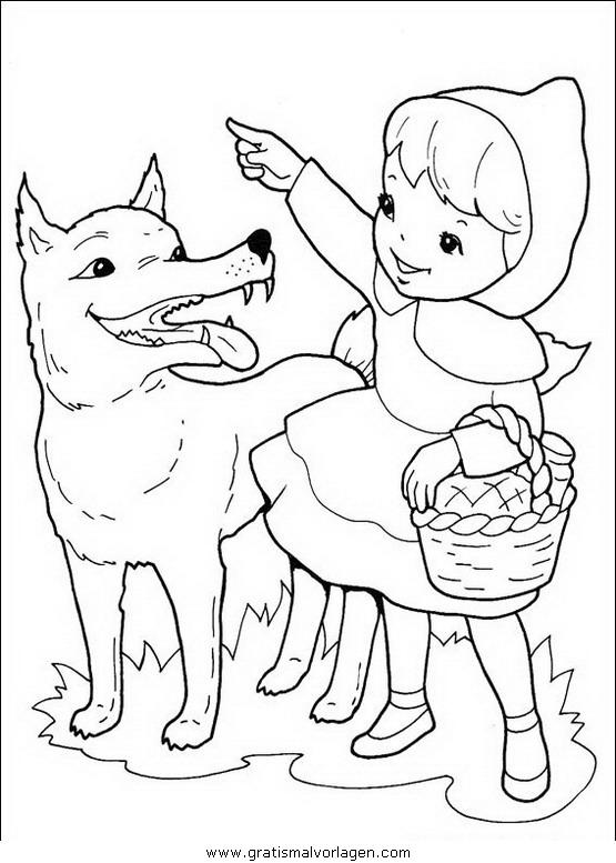 rotkappchen 01 gratis malvorlage in comic