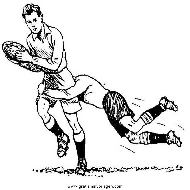 rugby 13 gratis malvorlage in rugby sport  ausmalen