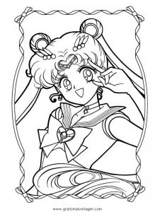 Malvorlage Sailor Moon sailor moon 15