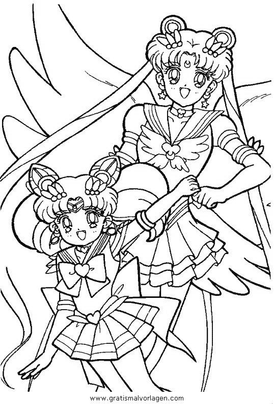 Sailor Moon 31 Gratis Malvorlage In Comic