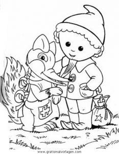 sandmannchen sandmann 02 gratis malvorlage in comic  trickfilmfiguren, sandmännchen - ausmalen