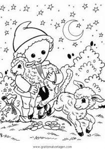 sandmann und seine freunde malvorlagen   coloring and