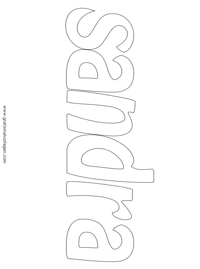 sandra 01 gratis malvorlage in diverse malvorlagen namen