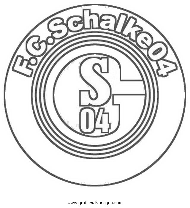 schalke 04 2 gratis malvorlage in american football sport