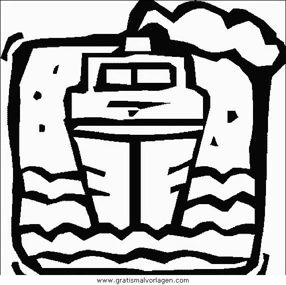Sendung Maus 09 Gratis Malvorlage In Comic: Schiffe 09 Gratis Malvorlage In Schiffe, Transportmittel