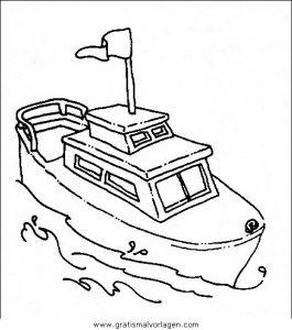 Malvorlage Schiffe schiffe 13