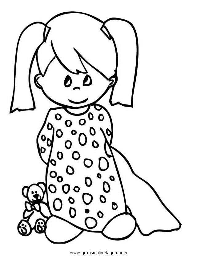 Schlafanzug 7 Gratis Malvorlage In Beliebt07 Diverse
