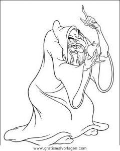 Schneewittchen 39 Gratis Malvorlage In Comic Trickfilmfiguren