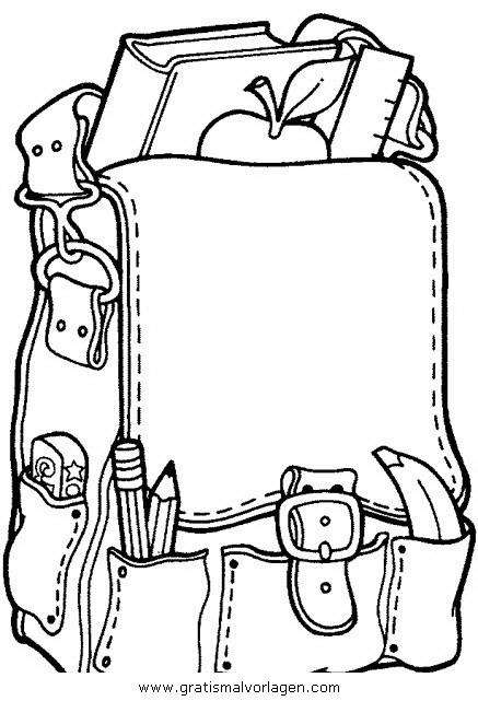 Galupy 1 Gratis Malvorlage In Comic Trickfilmfiguren: Schulranze Schulranzen 1 Gratis Malvorlage In Beliebt