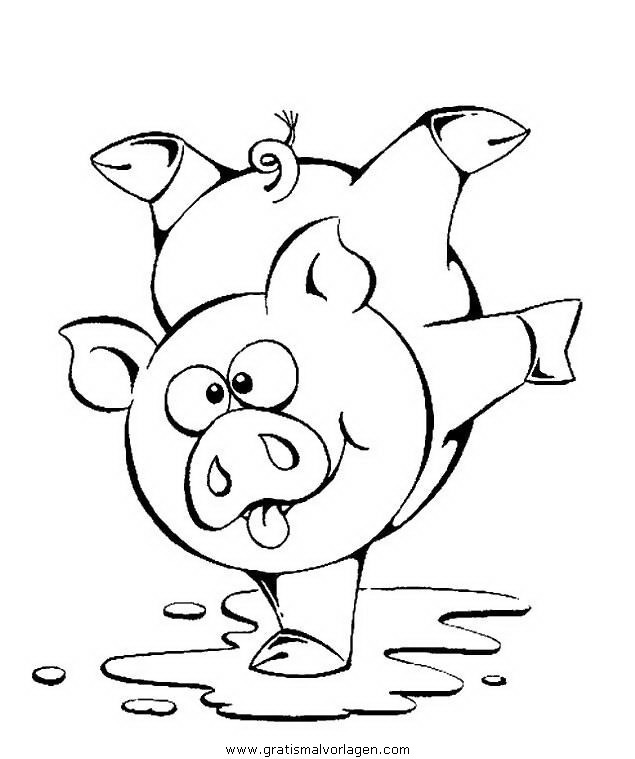 schweine 168 gratis malvorlage in schweine tiere  ausmalen