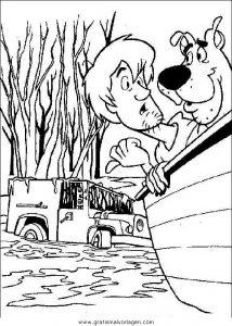Malvorlage Scooby-Doo scooby 70