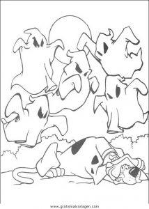 Malvorlage Scooby-Doo scooby 75