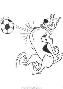 Malvorlage Scooby-Doo scooby 90