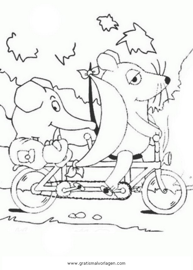 Sendung Maus 06 Gratis Malvorlage In Comic