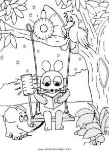sendung maus 08 gratis malvorlage in comic  trickfilmfiguren, sendung mit der maus - ausmalen