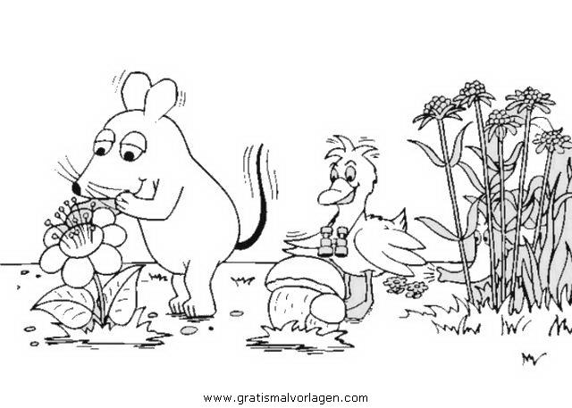 sendung maus 15 gratis malvorlage in comic