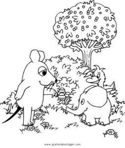 Sendung Maus 17 Gratis Malvorlage In Comic