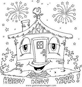 malvorlagen neujahr gratis malvorlagencr. Black Bedroom Furniture Sets. Home Design Ideas