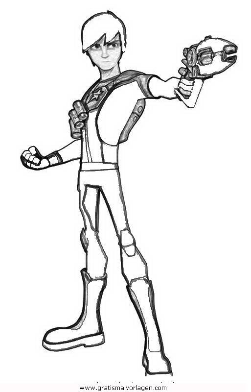 Rayman 11 Gratis Malvorlage In Comic Trickfilmfiguren: Slugterra 11 Gratis Malvorlage In Comic & Trickfilmfiguren