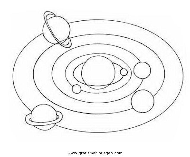 Malvorlagen Sonnensystem | My blog