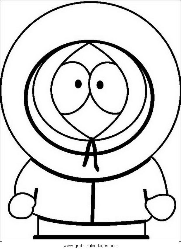 south park2 gratis malvorlage in comic  trickfilmfiguren