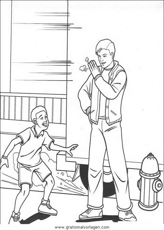 spiderman 21 gratis malvorlage in comic  trickfilmfiguren