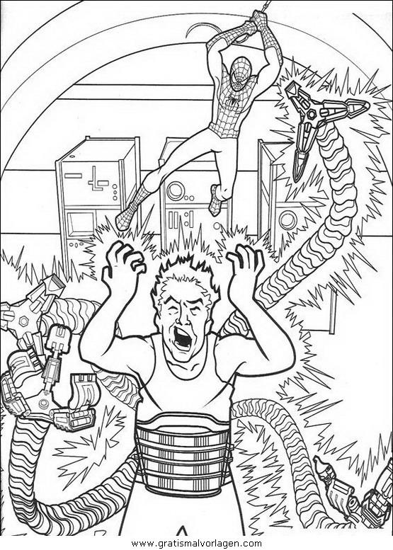 spiderman 27 gratis malvorlage in comic & trickfilmfiguren