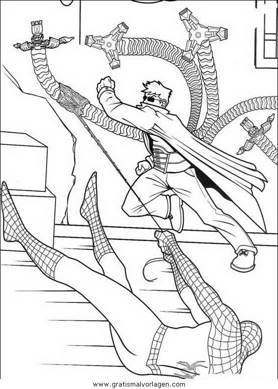 spiderman 60 gratis malvorlage in comic  trickfilmfiguren