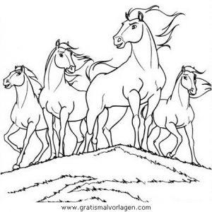 Spirit Der Wilde Mustang05 Gratis Malvorlage In Comic