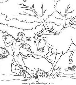 Spirit Der Wilde Mustang07 Gratis Malvorlage In Comic