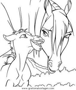 Spirit Der Wilde Mustang10 Gratis Malvorlage In Comic