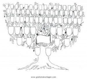 Stammbaum gratis malvorlage in beliebt08 diverse - Malvorlage stammbaum ...
