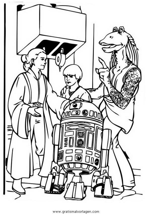 Sendung Maus 09 Gratis Malvorlage In Comic: Starwars 09 Gratis Malvorlage In Science Fiction, Star