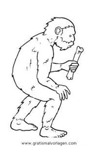 Steinzeit 15 Gratis Malvorlage In Menschen Steinzeit Ausmalen