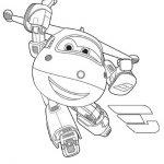 superwings paul gratis malvorlage in comic