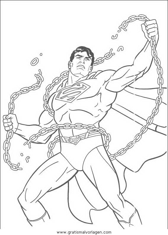 superman 43 gratis malvorlage in comic  trickfilmfiguren