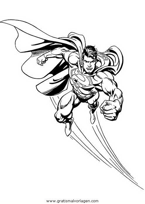 superman 48 gratis malvorlage in comic  trickfilmfiguren