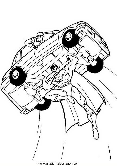 superman 54 gratis malvorlage in comic  trickfilmfiguren