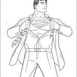 Superman Malvorlagen Zum Ausmalen Für Kinder