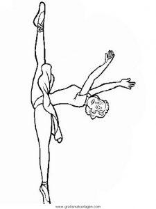 Malvorlage Tanz tanz 03