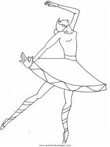 Malvorlage Tanz tanz 08