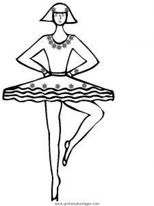 Malvorlage Tanz tanz 16