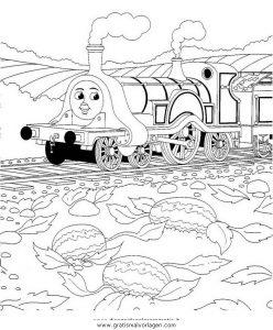 thomas train 13 gratis malvorlage in comic  trickfilmfiguren, thomas und seine freunde - ausmalen